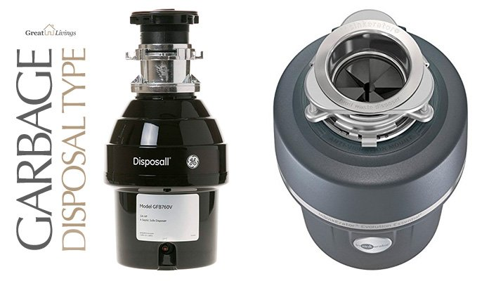 Types of Garbage Disposal: Electric with Continuous Feed vs. Batch Feed