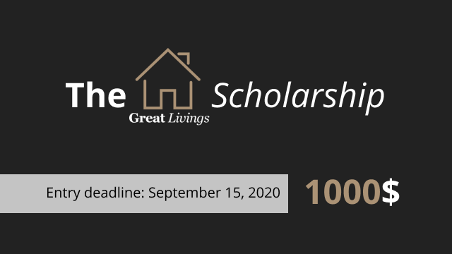 Great Livings 1000$ Scholarship