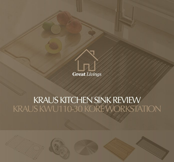 Kraus Kitchen Sink Review: Kraus Kitchen Sink Single Bowl Undermount Kore Workstation