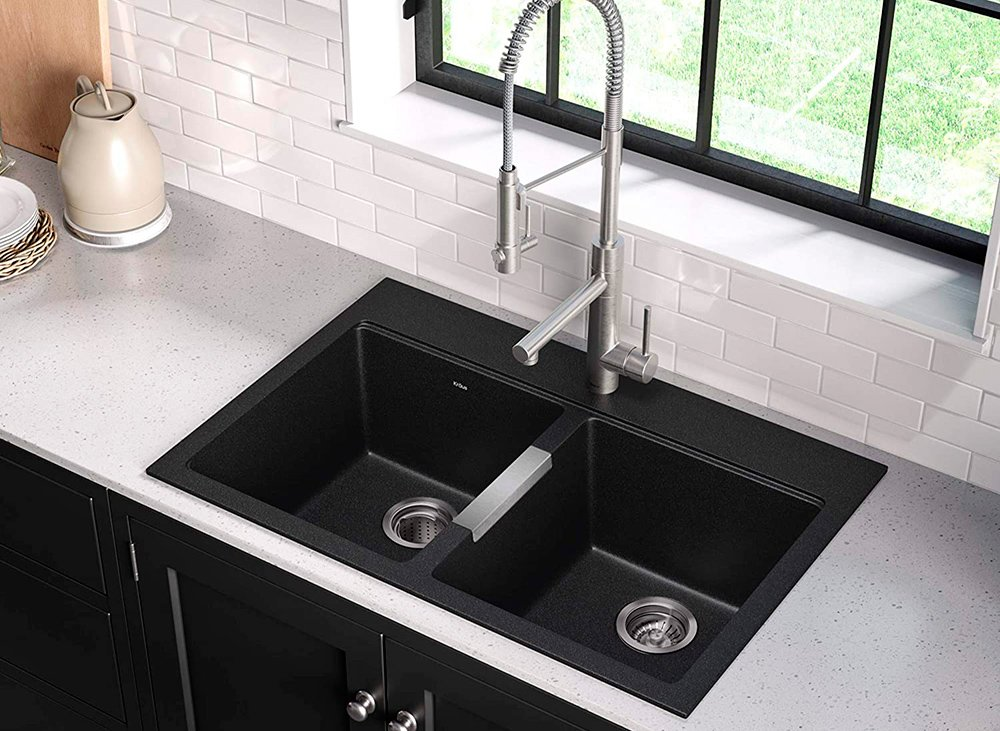 Kraus KGD-433B Granite Kitchen Sink Review