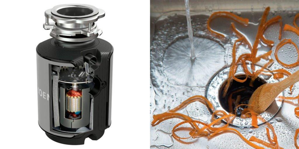 Moen Garbage Disposal Review: GX50C GX Series 1/2 HP