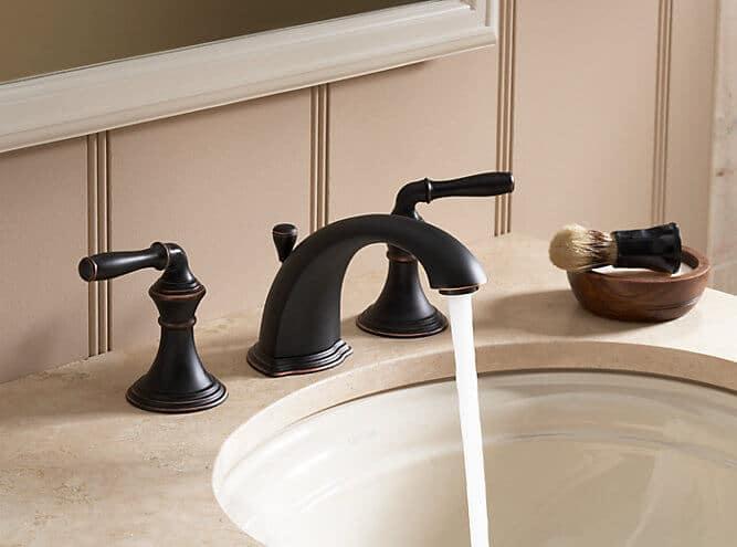 KOHLER Devonshire K-394-4 – Best Widespread Bathroom Sink Faucet Review