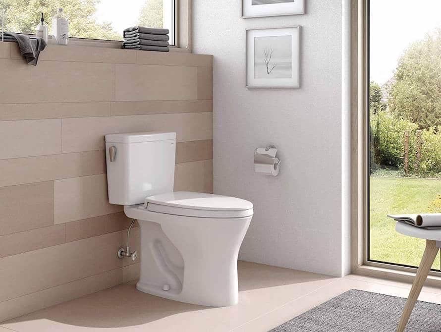 Toto Drake Flushing Toilet Review