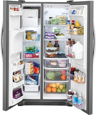 Frigidaire FFSS2315 best 33 inch Side by Side Refrigerator review