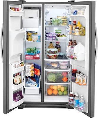 Frigidaire FFSS2315 best 33 inch Side by Side Refrigerator review