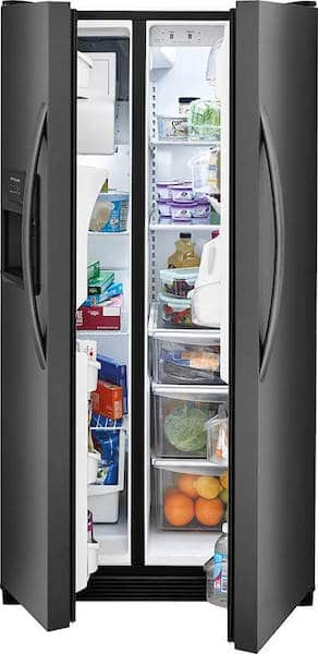 Frigidaire FFSS2615TS Side-by Side Refrigerator review