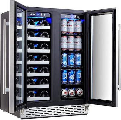 Phiestina Side by Side Refrigerator review