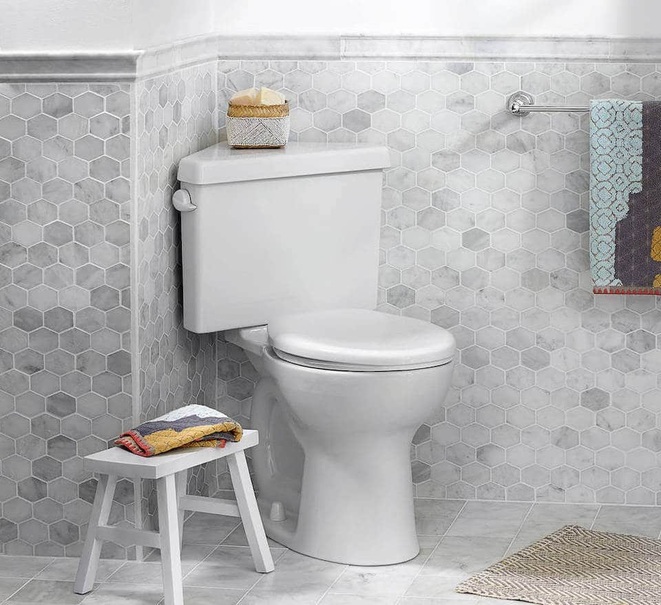 American Standard Cadet 3 Dual Flush Corner Toilet Review
