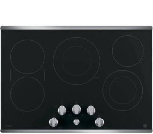GE Profile PP7030SJSS 30 inch electric cooktop review