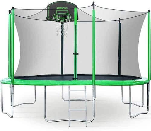 Merax trampoline features