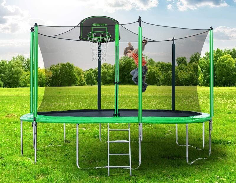 Merax trampoline review