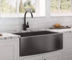 Ruvati RVH9733BL Stainless Steel Farmhouse Sink review
