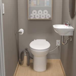 Saniflo 023 Sanicompact One Piece Toilet Review
