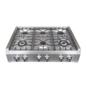 how to install a gas cooktop