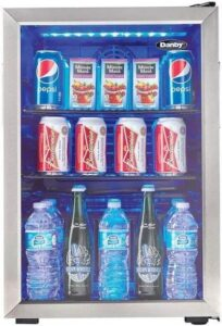 Danby DBC026A1BSSDB Beverage Fridge review