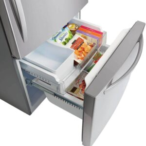 LG 33 Inch Bottom Freezer Fridge
