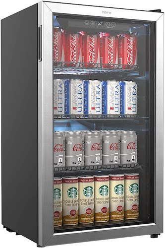 hOmeLabs Beverage Refrigerator and Cooler review
