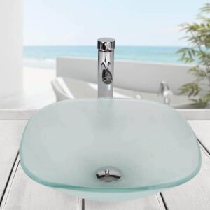 Square Tempered Glass Sink review