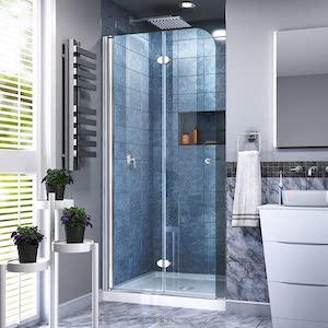 DreamLine Aqua Fold shower doors review