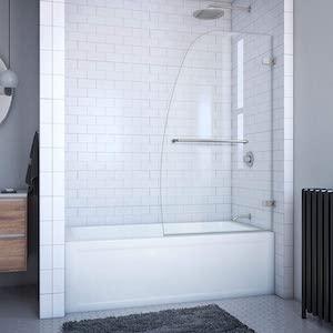 DreamLine Aqua Uno partial tub door review