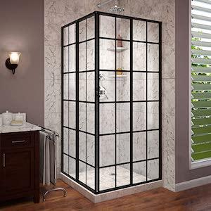 DreamLine French Corner shower door review