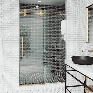 VIGO VG6041MGCL5674 Frameless shower doors review